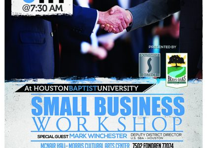 Small Business Workshop at HBU
