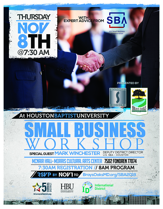 Small Business Workshop at HBU